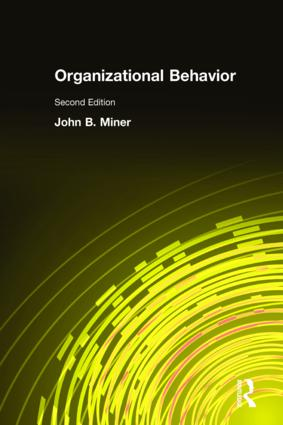 Organizational Behavior: Integrated Theory Development and The Role of the Unconscious, 2nd Edition (Pack) book cover