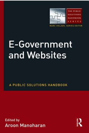 E-Government and Websites: A Public Solutions Handbook book cover