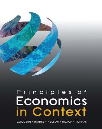 Principles of Economics in Context book cover