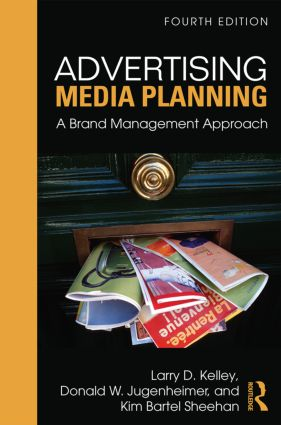 Advertising Media Planning: A Brand Management Approach, 4th Edition (Paperback) book cover