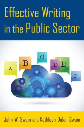 Effective Writing in the Public Sector: 1st Edition (Paperback) book cover