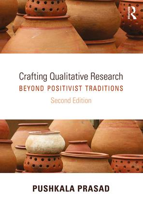 Crafting Qualitative Research: Beyond Positivist Traditions, 2nd Edition (Paperback) book cover