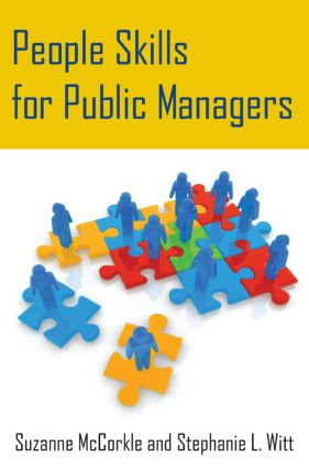 People Skills for Public Managers: 1st Edition (Paperback) book cover