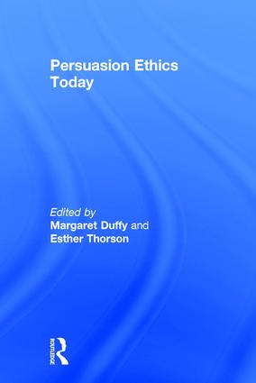Persuasion Ethics Today (Hardback) book cover
