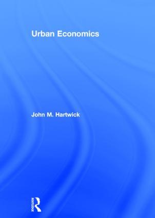 Urban Economics (Hardback) book cover