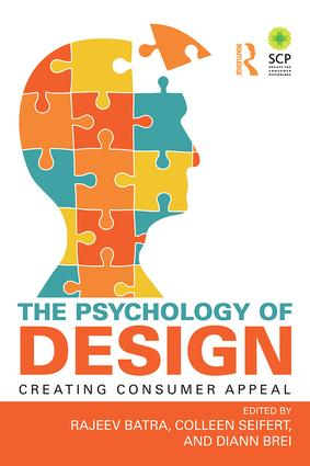 The Psychology of Design: Creating Consumer Appeal, 1st Edition (Paperback) book cover