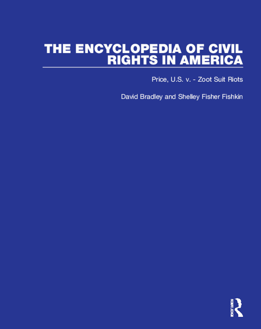 Encyclopaedia of Civil Rights in America: 1st Edition (Hardback) book cover
