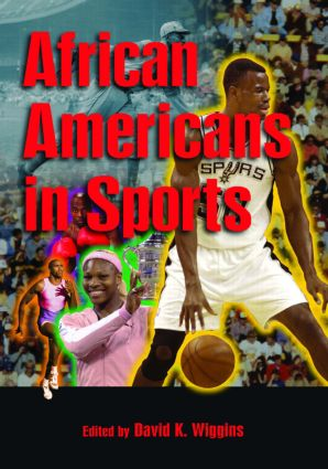 African Americans in Sports: 1st Edition (Hardback) book cover
