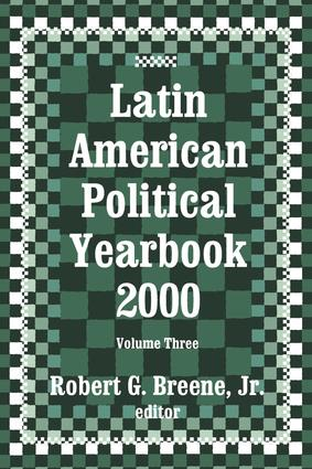 Latin American Political Yearbook: 1999, 1st Edition (Hardback) book cover