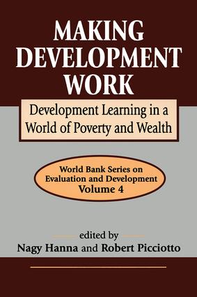 Making Development Work: Development Learning in a World of Poverty and Wealth, 1st Edition (Paperback) book cover