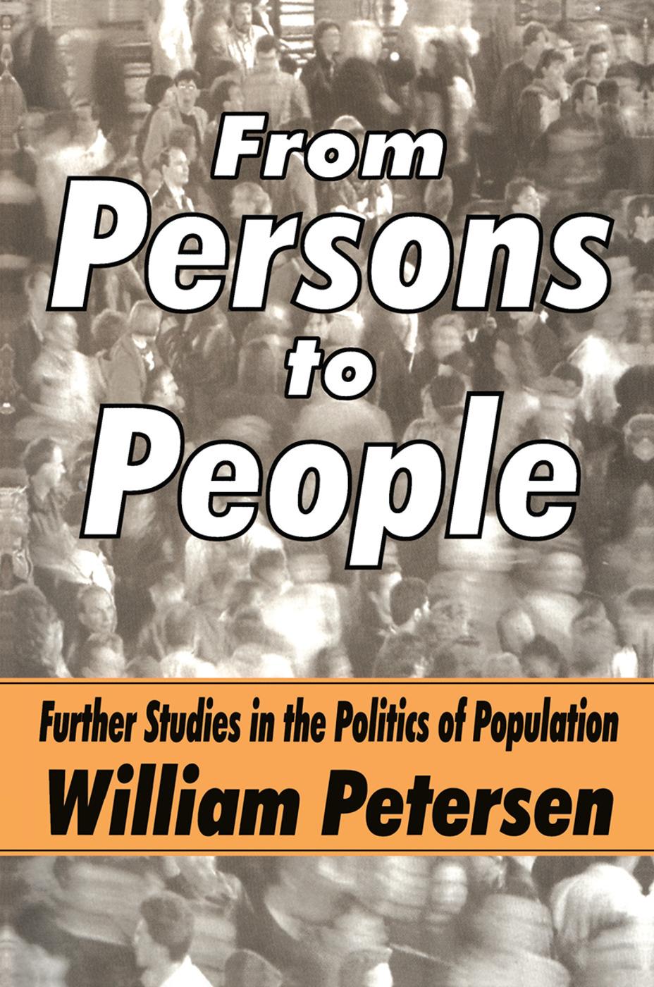 Political Influences on Ethnicity