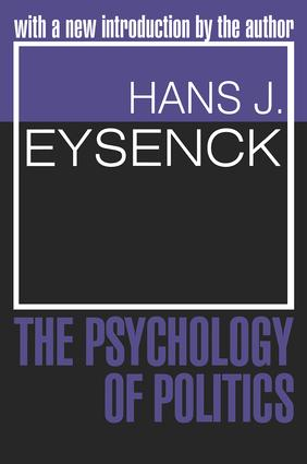 The Psychology of Politics: 1st Edition (Paperback) book cover
