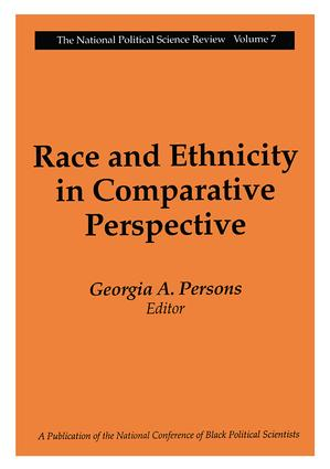 Race and Ethnicity in Comparative Perspective book cover