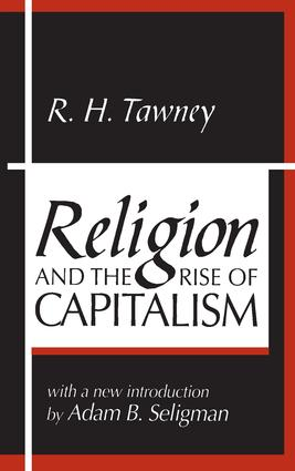 Religion and the Rise of Capitalism: 1st Edition (Paperback) book cover