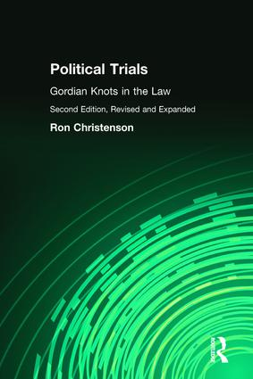 Political Trials: Gordian Knots in the Law, 2nd Edition (Paperback) book cover