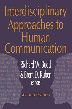 Interdisciplinary Approaches to Human Communication: 1st Edition (Paperback) book cover