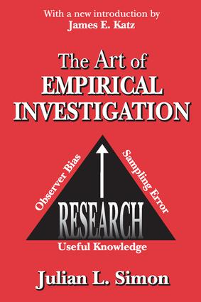 The Art of Empirical Investigation: 1st Edition (Paperback) book cover
