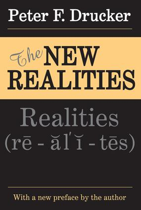 The New Realities: 1st Edition (Paperback) book cover