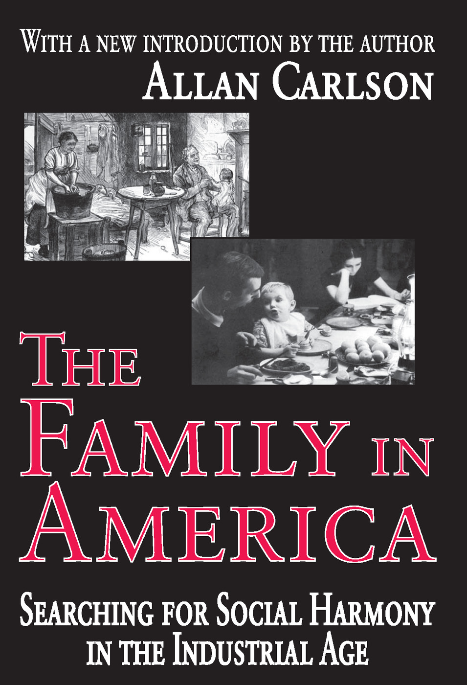 The Family in America: Searching for Social Harmony in the Industrial Age, 1st Edition (Paperback) book cover