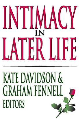 Intimacy in Later Life: 1st Edition (Paperback) book cover
