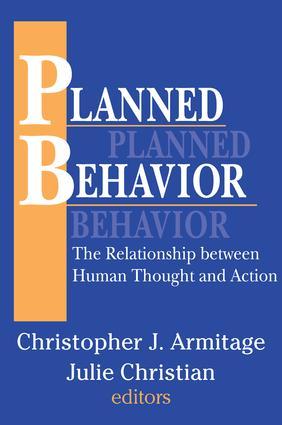 Planned Behavior