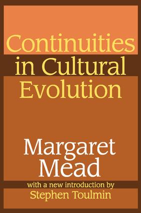 Continuities in Cultural Evolution: 1st Edition (Paperback) book cover