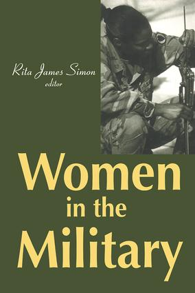Women in the Military: 1st Edition (Paperback) book cover