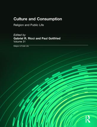 Culture and Consumption book cover