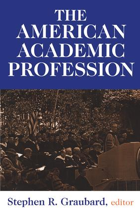 The American Academic Profession: 1st Edition (Paperback) book cover