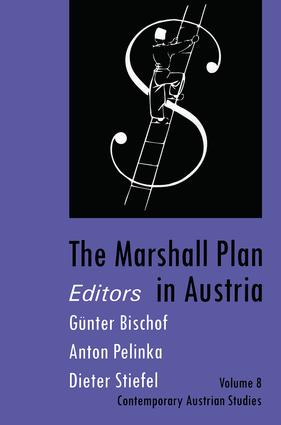 The Marshall Plan in Austria: 1st Edition (Paperback) book cover