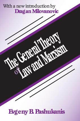 The General Theory of Law and Marxism: 1st Edition (Paperback) book cover