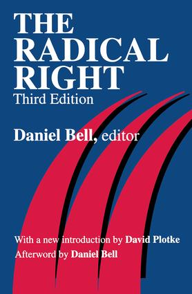The Radical Right: 3rd Edition (Paperback) book cover