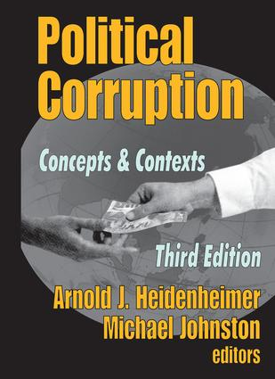 Political Corruption: Concepts and Contexts, 3rd Edition (Paperback) book cover