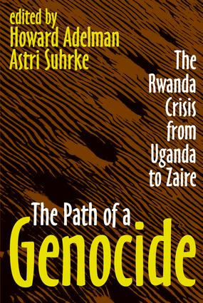 The Path of a Genocide: The Rwanda Crisis from Uganda to Zaire, 1st Edition (Paperback) book cover
