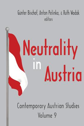 Neutrality in Austria: 1st Edition (Paperback) book cover
