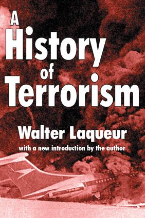 A History of Terrorism: 1st Edition (Paperback) book cover