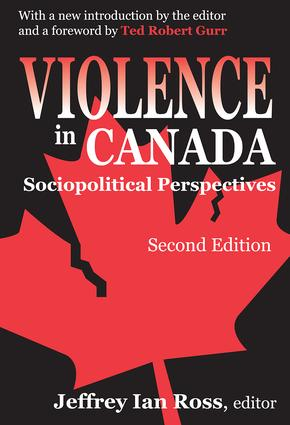 Violence in Canada: Sociopolitical Perspectives, 1st Edition (Paperback) book cover