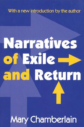 Narratives of Exile and Return: 1st Edition (Paperback) book cover