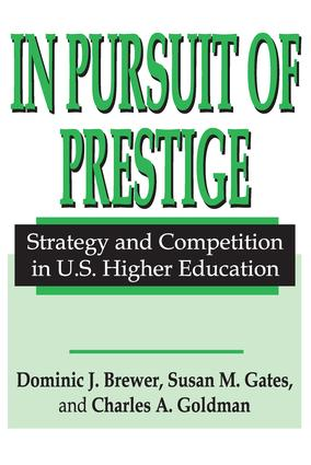 In Pursuit of Prestige: 1st Edition (Paperback) book cover