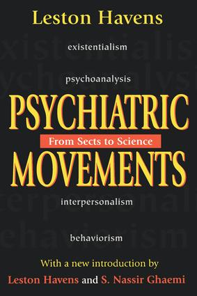 Psychiatric Movements: From Sects to Science, 1st Edition (Paperback) book cover
