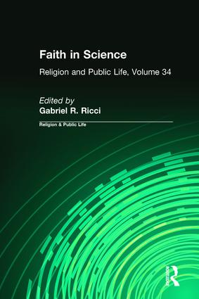Faith in Science book cover
