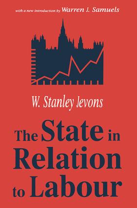 The State in Relation to Labour: 1st Edition (Paperback) book cover