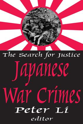 Japanese War Crimes: 1st Edition (Paperback) book cover