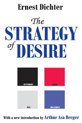 The Strategy of Desire: 1st Edition (Paperback) book cover