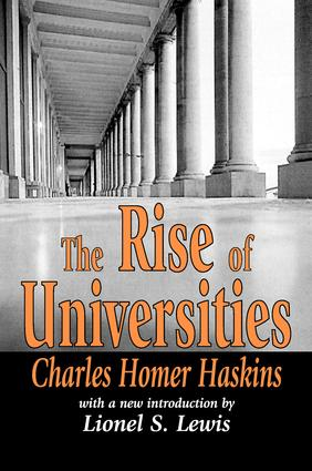 The Rise of Universities: 1st Edition (Paperback) book cover