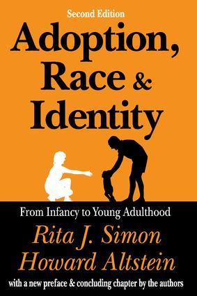 Adoption, Race, and Identity: From Infancy to Young Adulthood, 2nd Edition (Paperback) book cover