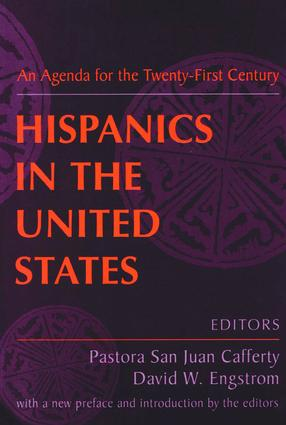 Hispanics in the United States: An Agenda for the Twenty-First Century, 1st Edition (Paperback) book cover