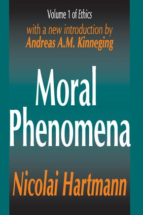 Moral Phenomena book cover