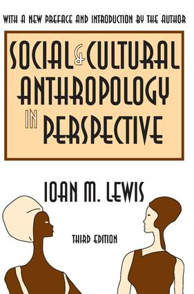 The Rise of Modern Social Anthropology