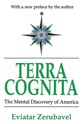 Terra Cognita: The Mental Discovery of America, 1st Edition (Paperback) book cover